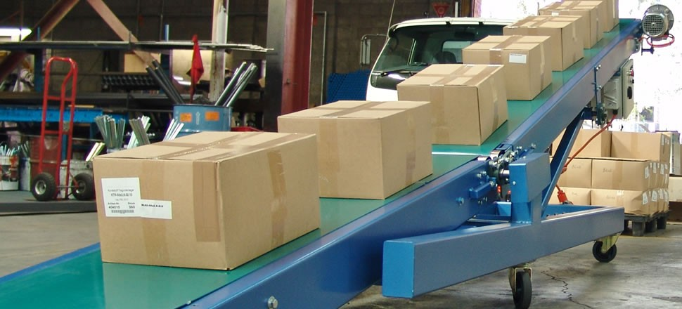 Mobile Belt Booster Conveyors