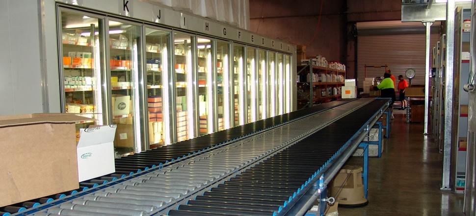 Line-shaft Driven Roller Conveyors